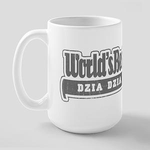 WB Grandpa [Polish] Large Mug